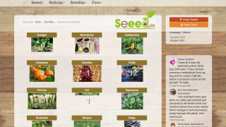 SEEeD group website, for seed saving. Small community...