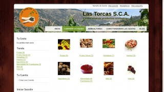 Product catalog of las Torcas.